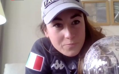 """Goggia vince la Coppa di discesa: """"Strameritata"""""""