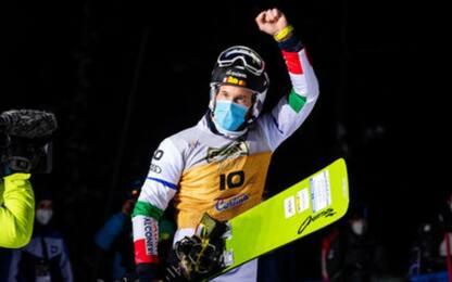 Snowboard, l'azzurro March vince Coppa del mondo