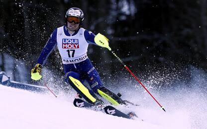 Slalom a Feller, Vinatzer sfiora il podio