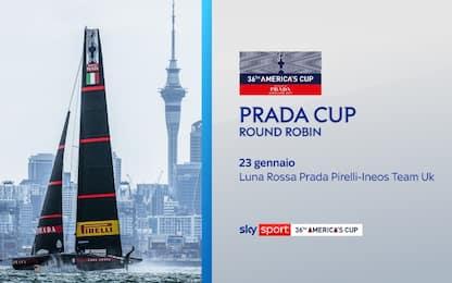 Prada Cup, il nuovo calendario di Luna Rossa