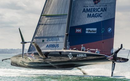 American Magic torna in acqua per le semifinali