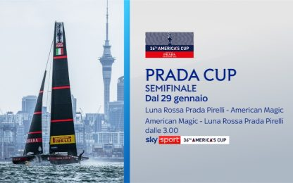 Prada Cup, torna Luna Rossa per le semifinali