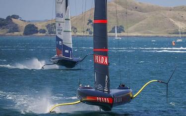 29/01/21 - Auckland (NZL)36th Americaâ  s Cup presented by PradaPRADA Cup 2021 -  Semi Final - Day 1Luna Rossa Prada Pirelli Team, New York Yacht Club American Magic