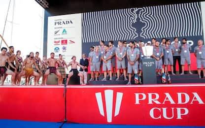 Una Haka per Luna Rossa, si festeggia la Prada Cup