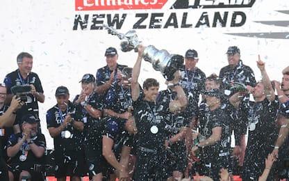 Luna Rossa si arrende: New Zealand trionfa 7-3