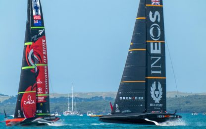 Team Uk sfida New Zealand: confermati gli AC75
