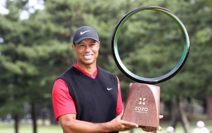 Tiger Woods nella storia del golf: 82° titolo!