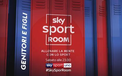 A Sky Sport Room il rapporto tra genitori e figli