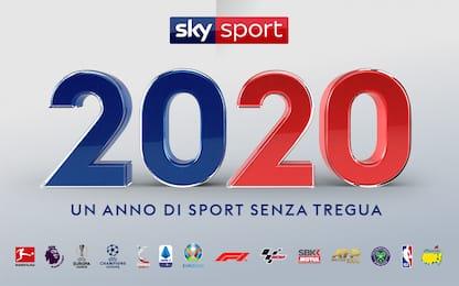 Sky Sport 2020: un anno di sport senza tregua