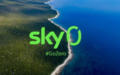 "Sky sarà ""net zero carbon"" entro il 2030"