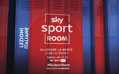 "Lezioni Italiane a ""Sky Sport Room"""