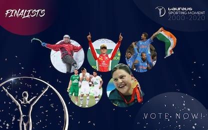 Laureus, Miglior momento sportivo: i 5 finalisti