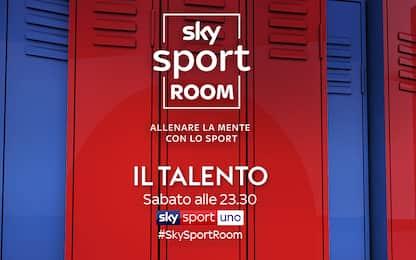 A Sky Sport Room si parla del talento nello sport