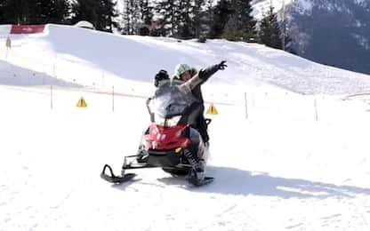 """""""CrossAbili"""": neve e mototerapia per 250 ragazzi"""