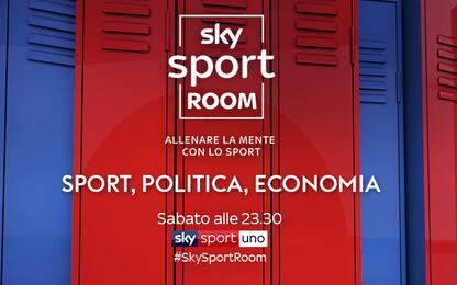 A Sky Sport Room si parla di economia e politica