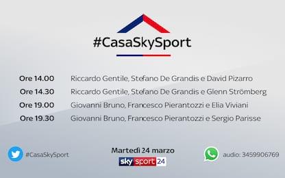#CasaSkySport, gli ospiti di martedì