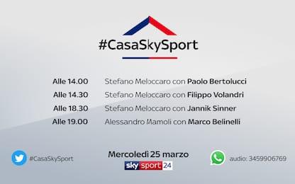#CasaSkySport: gli ospiti di mercoledì