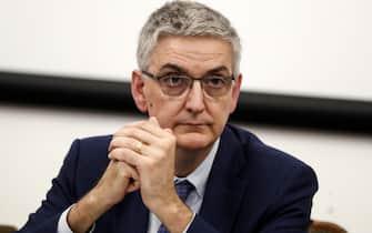 Silvio Brusaferro, presidente dell'Istituto Superiore di Sanita', durante la conferenza stampa sul Coronavirus all'Istituto Superiore di Sanita', Roma, 29 gennaio 2020. ANSA/RICCARDO ANTIMIANI