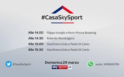 #CasaSkySport: domande a Zola e Di Canio