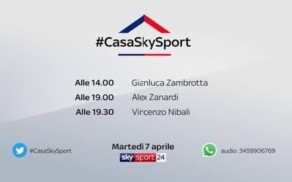#CasaSkySport, gli ospiti di martedì 7 aprile