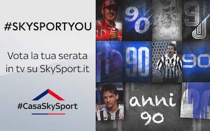 #SkySportYou, vota il tuo amarcord anni '90