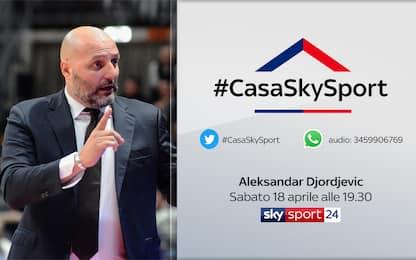 #CasaSkySport: ospiti Djordjevic, Rudic e Campagna