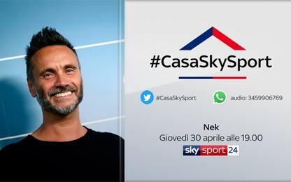 #CasaSkySport, alle 19 le vostre domande a Nek