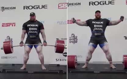 """La """"Montagna"""" di GOT solleva 501 kg. IL VIDEO"""