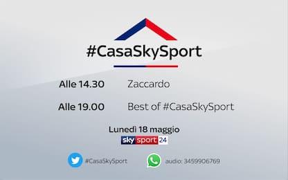 #CasaSkySport, gli ospiti del 18 aprile