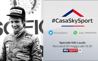 #CasaSkySport, gli ospiti di mercoledì 20 maggio