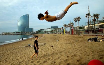 Barcellona e Madrid riaprono: via la Fase 1. FOTO