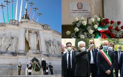 Il 2 giugno di Mattarella tra Roma e Codogno. FOTO