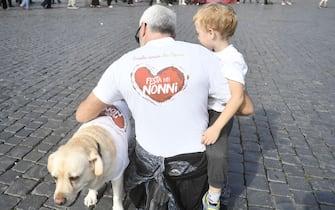 Piazza del Popolo, Festa dei Nonni