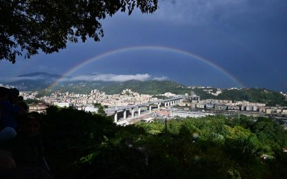 Genova, inaugurato il ponte San Giorgio. FOTO