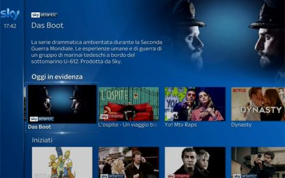 Sky Q si rinnova: sempre più facile e immediato