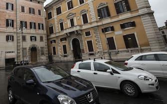 Foto Carlo Lannutti/LaPresse01-02-2019 Roma, ItaliacronacaL'isola pedonale in piazza BorgheseNella foto: piazza Borghese