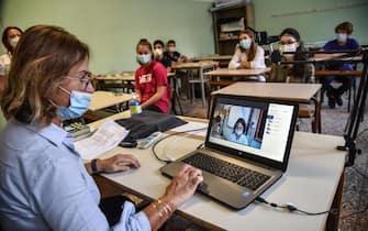 Primo giorno di scuola al Liceo Scientifico Leonardo Da Vinci