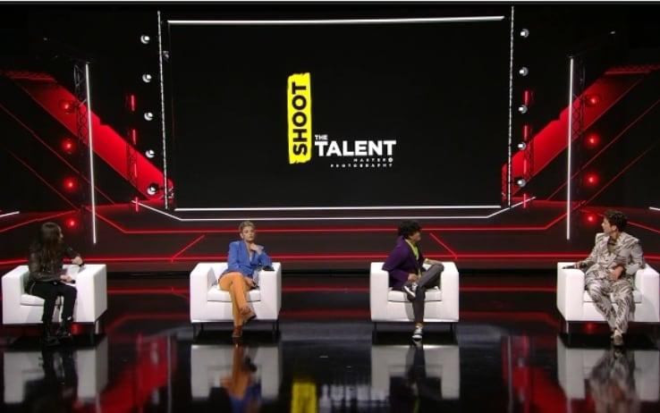 Shoot the talent