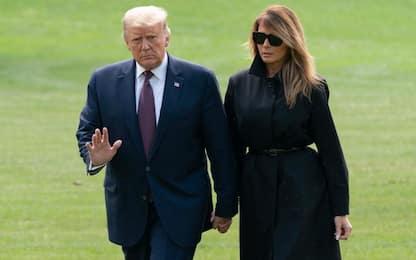 "Trump e Melania positivi: ""Insieme ce la faremo"""