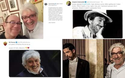 """""""Addio maestro"""", tutti gli omaggi a Gigi Proietti"""