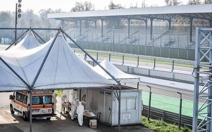 L'Autodromo di Monza diventa un check point. FOTO