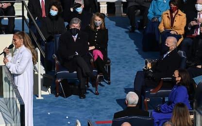 Jennifer Lopez canta per Biden e Harris. VIDEO