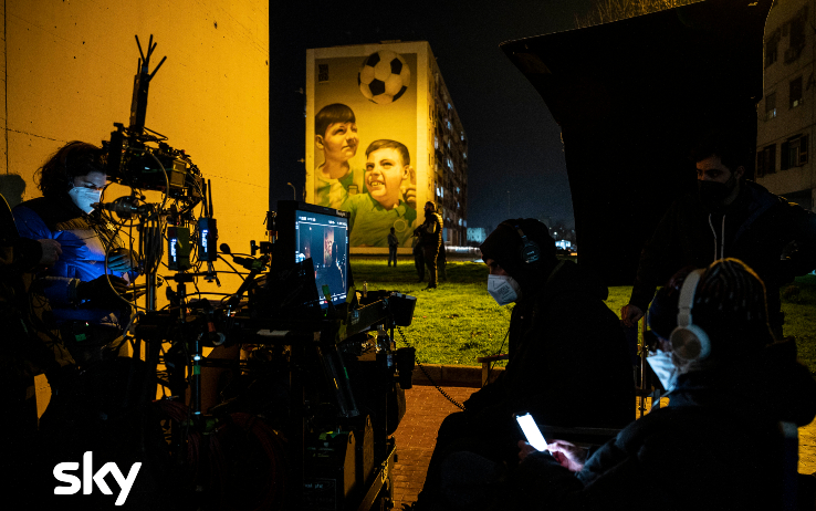 Le immagini dal set di Gomorra