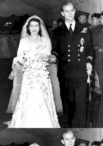 This coming Thursday, 20th November, Britain's Queen Elizabeth II and her husband Prince Philip, the Duke of Edinburgh, will celebrate their golden wedding anniversary. A golden wedding service for the Queen and Prince Philip - seen on their wedding day 20th November 1947 - will be held at Westminster Abbey to celebrate the event which is expected to be attended by a number of European royal households making it the largest gathering of foreign royalty since the Queen's coronation.     ANSA/TO