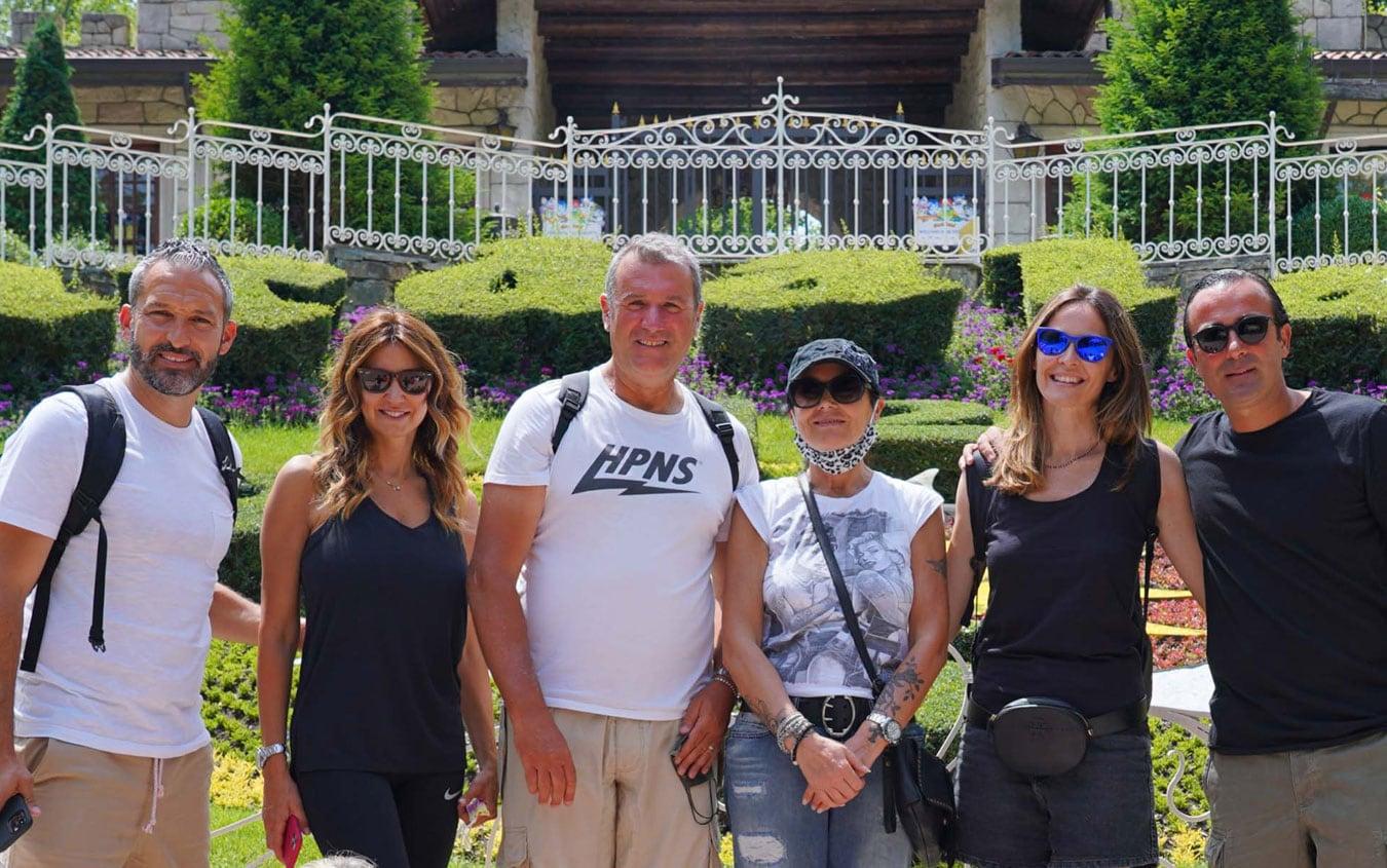 Zambrotta, Barone e Camporese a Gardaland