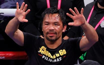 Pacquiao candidato alla presidenza delle Filippine