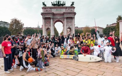 "Nasce ""Champions for change"", flashmob a Milano"