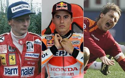 Non solo Marquez, i recuperi lampo nello sport