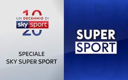 Un decennio di Sky Sport: campioni di Super Sport
