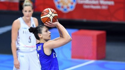 EuroBasket Women 2021: Italia-Rep. Ceca su Sky